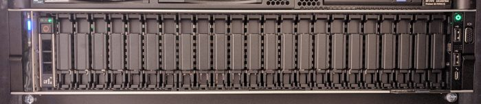 Dell Poweredge R7425 front without cover