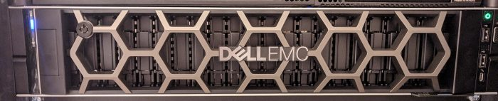 Dell Poweredge R7425 front with cover